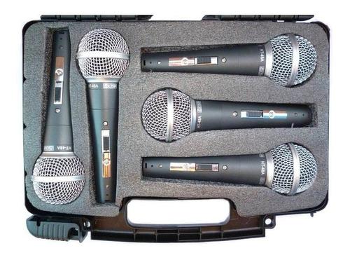 kit c/ 5 microfones csr ht48a