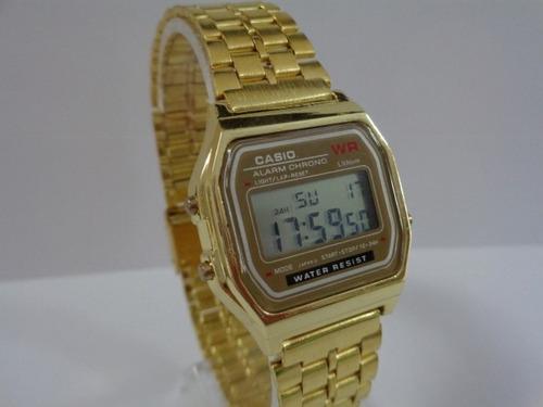 e17ffc69998 Kit C  5 Relógios Casio Wr Dourado Retro Vintage!!!    - R  120