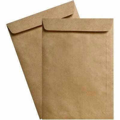 kit c/ 50 envelopes kraft tamanho 20x28cm- gra/80  equipefj!