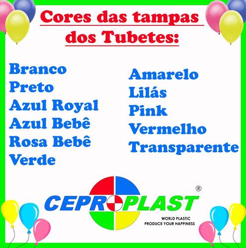 kit c/ 50 tubetes 13cm *festas* - o mais barato do brasil!!!