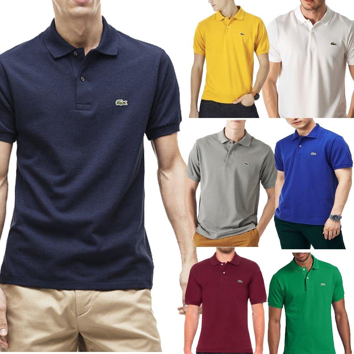 84c7834636 Kit C  6 Camisas Camisetas Atacado Gola Polo Masculina Marca - R ...