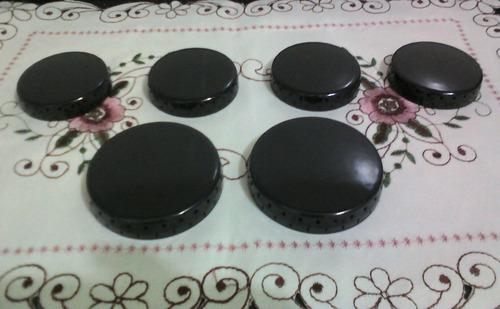 kit c/ 6 espalhadores esmaltados para eletrolux 6 bocas