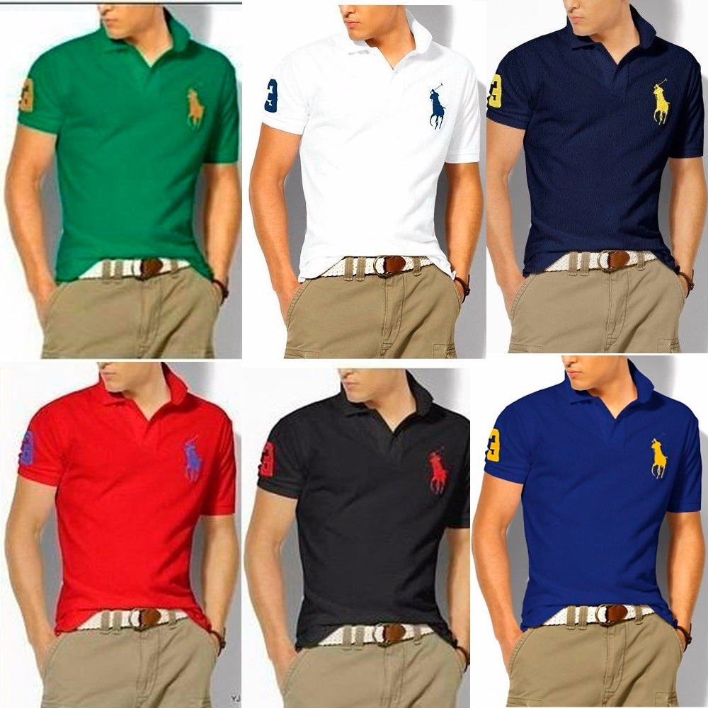 Kit C  7 Camisas Camisetas Gola Polo Revenda Masculina Ofert - R ... bf42bdddc6
