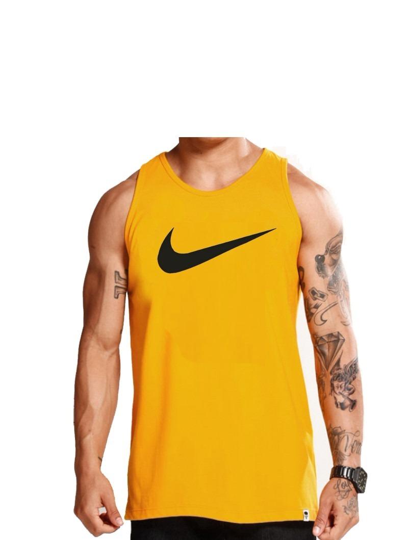 Kit C 05pç Camiseta Regata Masculina Nike Algodão + Frete - R  140 ... aa9c90d43ba36