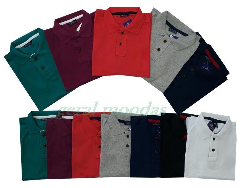 ... camisas polo masculina piquet cores variadas oferta. Carregando zoom. 56852692b849a