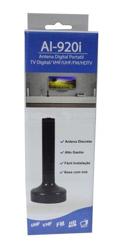 kit c/10 antena interna digital portátil indusat al-920i