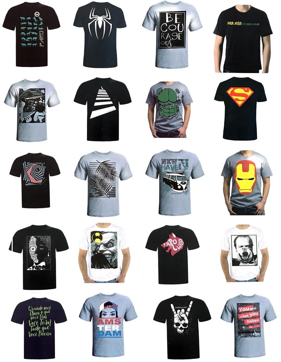 cc884401e kit c 10 camisas blusas masculinas malhas diferenciadas. Carregando zoom.