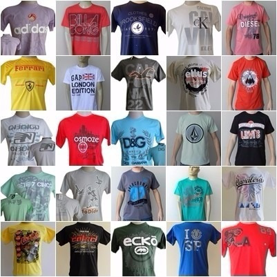 kit c/10 camisas de varias marcas envio rápido frete grátis