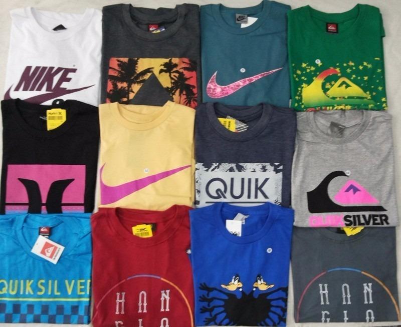 989da1ca8 kit c 10 camisas marcas originais algodão promocao so hoje. Carregando zoom.