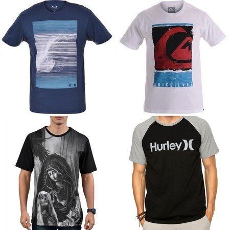 a44758520 Kit C 10 Camisas Marcas Originais Algodão Promocao So Hoje - R  180 ...