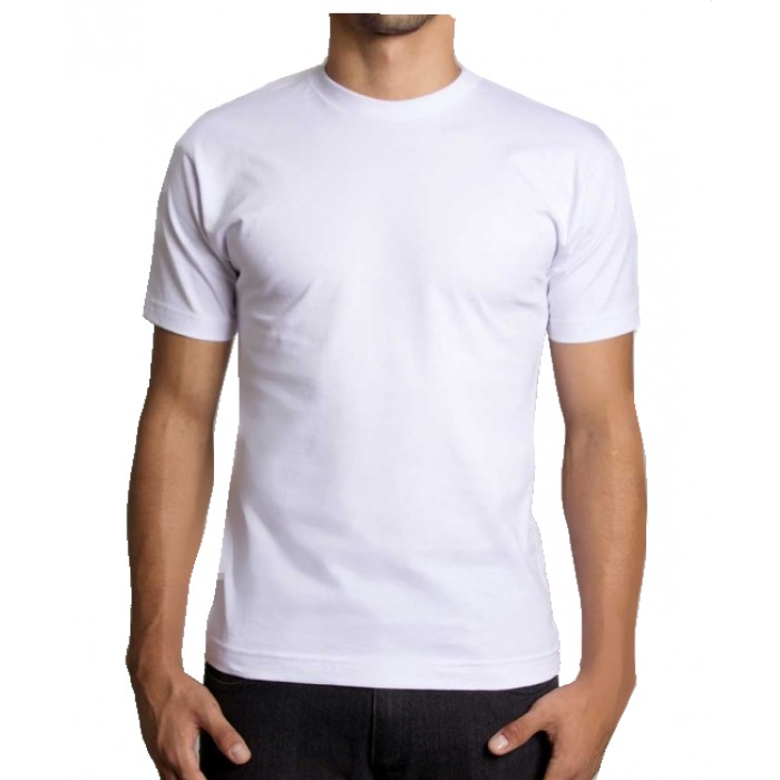 3aaeaf6b4 Kit C 10 Camiseta Branca Lisa Básica Loja Compra No Atacado - R  145 ...