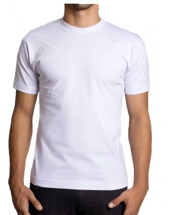 319bf0c9d1 Kit C/10 Camiseta Branca Lisa Básica Loja Compra No Atacado - R$ 145 ...