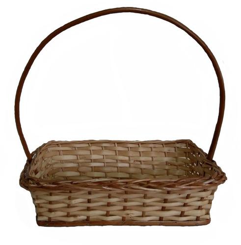 kit c/10 cesta de vime pascoa café manhã ref.1128 33x23x08