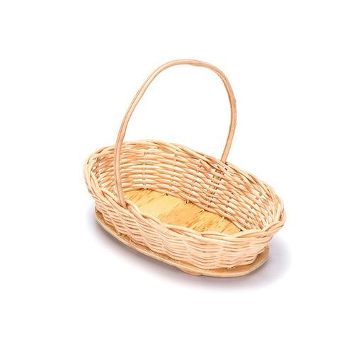 kit c/10 cestas cipó oval palha lembrancinha ref.236 16x11x6