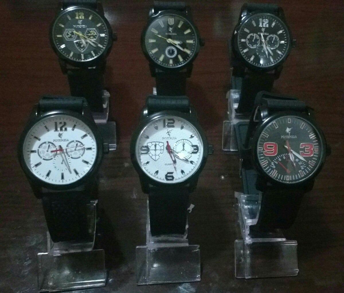 a5590313fab kit c 10 relógios masculino silicone +suporte qualidade top. Carregando zoom .