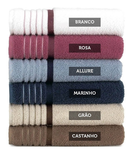 kit c/10 toalha de banho soft max 70 x 1,40 - luxo
