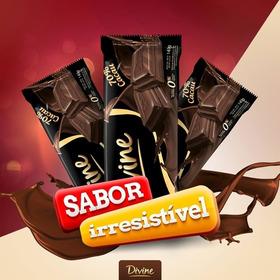 Kit C/12  Chocolate 70 Cacau Divine Barra 130g Promoção