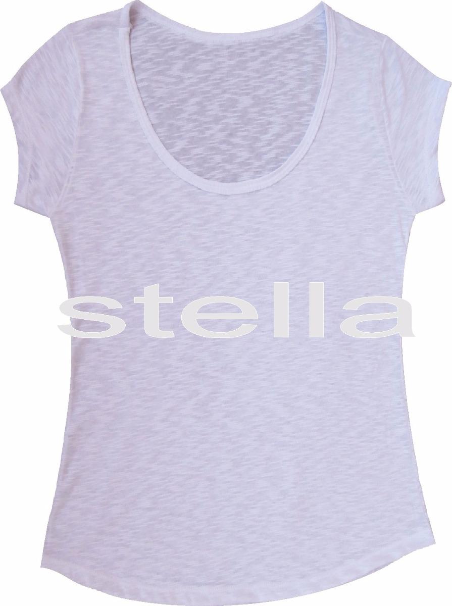 259722d8f570d kit c 12 t-shirt feminina flamê branca lisa 100%poliéster. Carregando zoom.