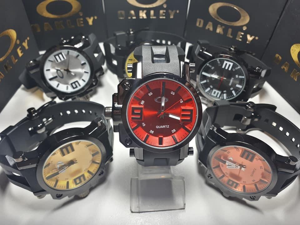 abbcbdc3be5 Kit C 150 Relógio Masculino Oakley Gearbox - Fabricante - R  4.650 ...