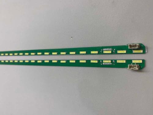 kit c/2 barras 46 led lg nova 49lf5400 49lf5410 49lf5900