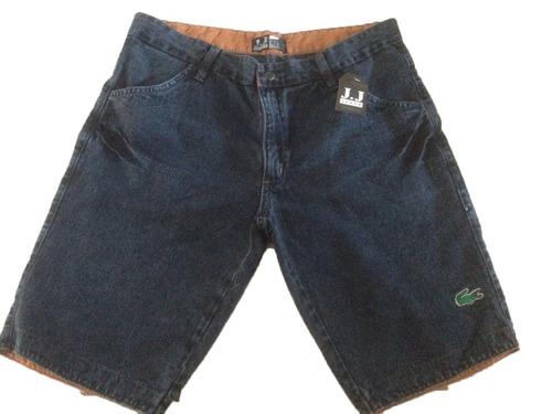 kit c/2  bermuda jeans masculino preço de atacado