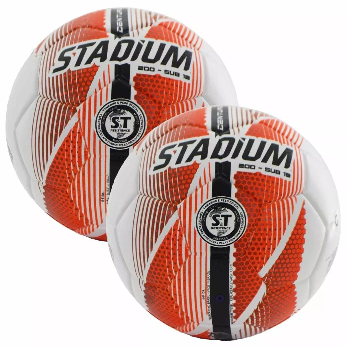 ... bolas sub13 stadium centurion max200 futsal + bomba. Carregando zoom. eb386a7010b99