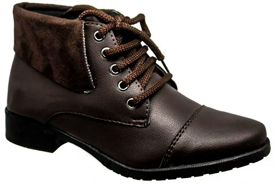 7588c1761f kit c 2 bota feminina corturno couro e veludo promoção 8001. Carregando  zoom.