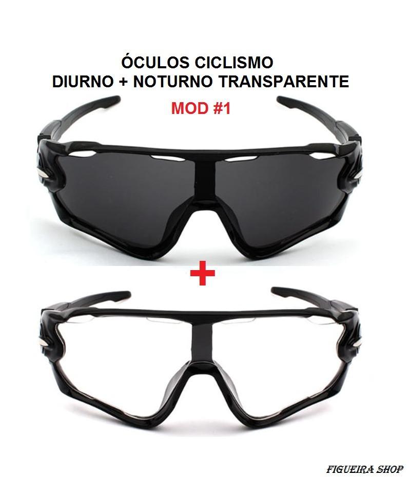 Kit C 2 Óculos De Sol Para Ciclismo Ciclista Uv 400 Ñ Oakley - R  54 ... 8d7a585a3e