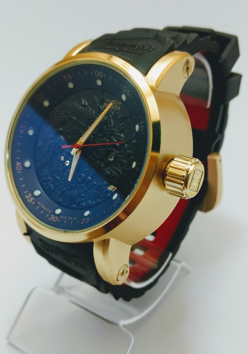 5d70fb0cf67 kit c 2 relógios invicta yakuza s1 aço dourado  frete grátis. Carregando  zoom.
