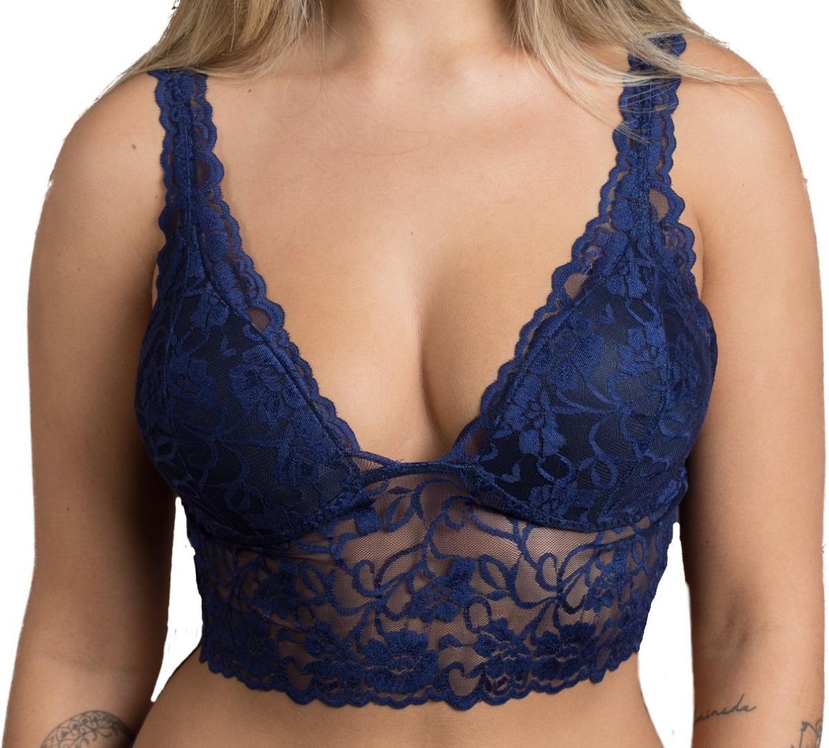 a07cd863c ... top cropped renda sutiã cropped lingerie. Carregando zoom.