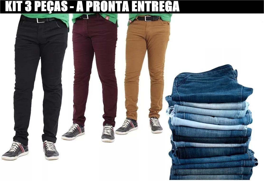 4c60795598 ... calcas jeans ou sarja varios modelos promoção. Carregando zoom.