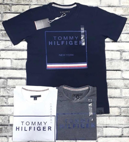 ac497730575c Kit C/3 Camiseta Tommy Hilfilger, Manga Curta Estampada