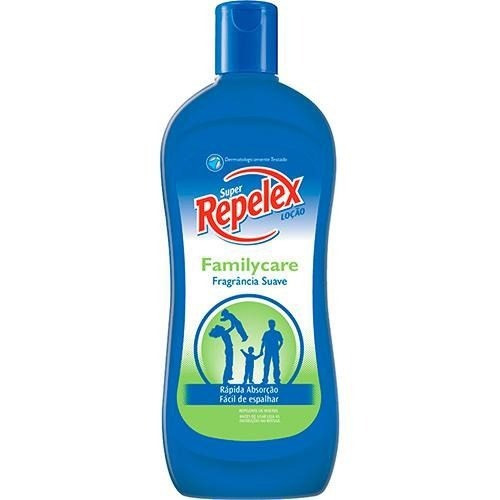 kit c/3 repelente repelex family care loção 200ml