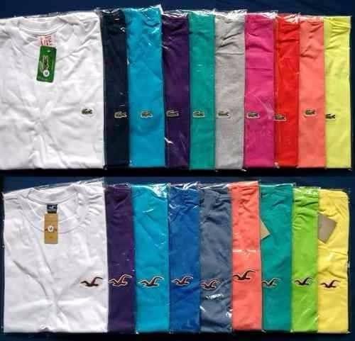 Kit C 30 Camisetas Camisas Gola V Masculina Atacado Revenda - R  260 ... 1286cc40548be