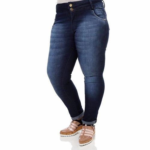 1af600e250 Kit C 4 Calça Jeans Feminina Cintura Plus Size Atacado Lycra - R ...