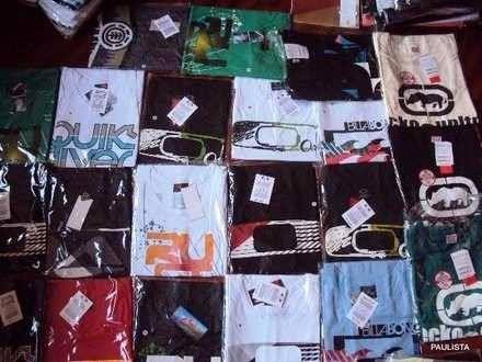 8466e7ceb Kit C 40 Camisa Camiseta De Marca No Atacado R  400 Revenda - R  440 ...