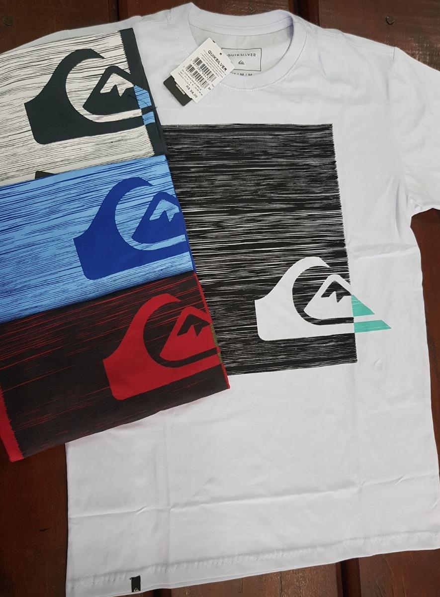 Kit C 5 Camisa Camiseta De Surf Quiksilver Premium - R  399,00 em ... 62243dca96