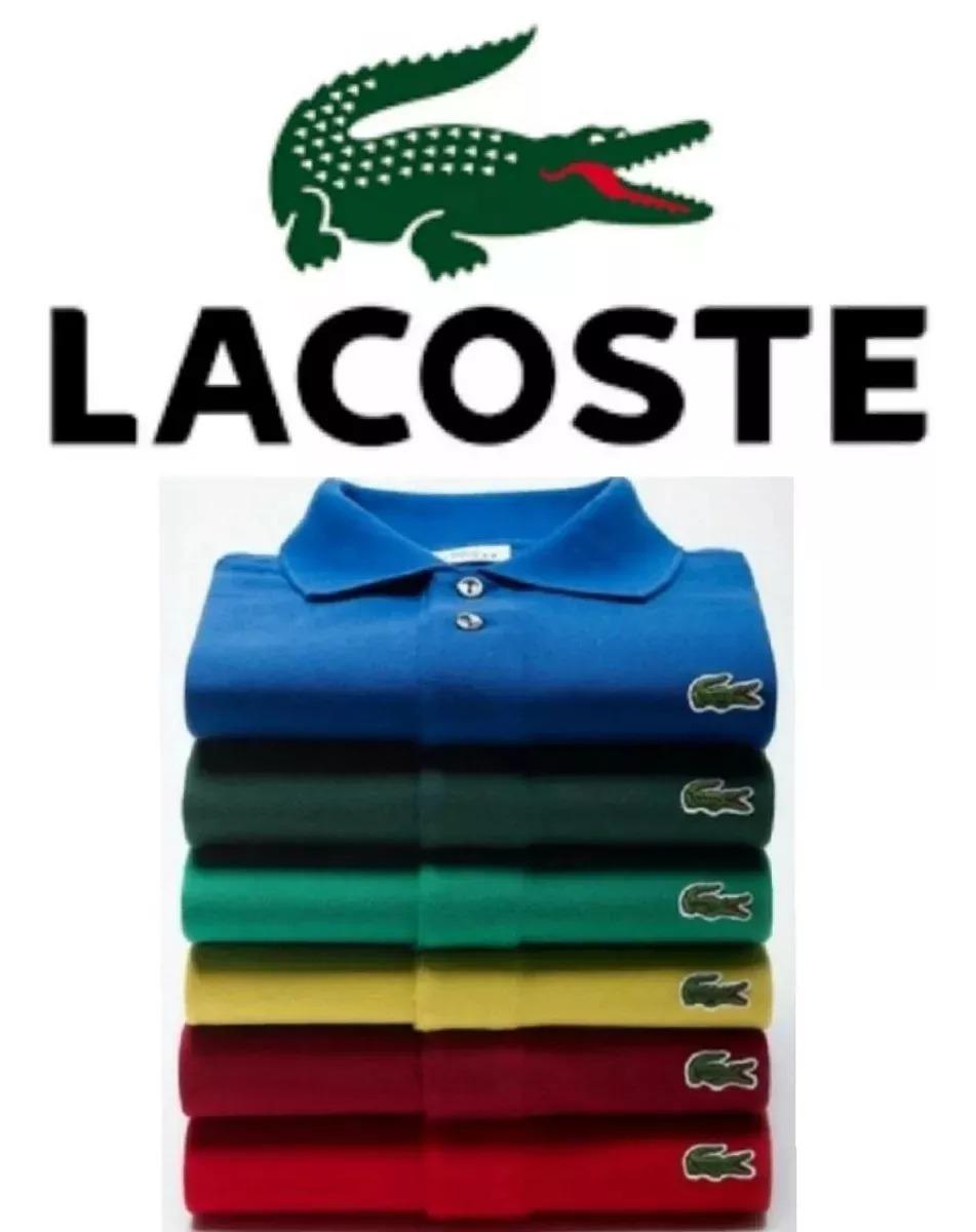 feebcb3a3b15c kit c 5 camiseta polo ocasião lacoste sucesso de venda !!!! Carregando zoom.