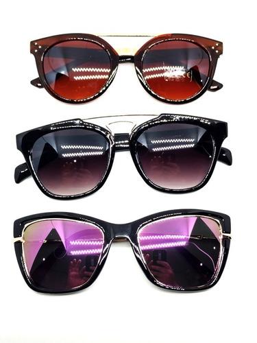 0bfe81cd8 kit c/5 óculos de sol feminino atacado para revender top. Carregando zoom.