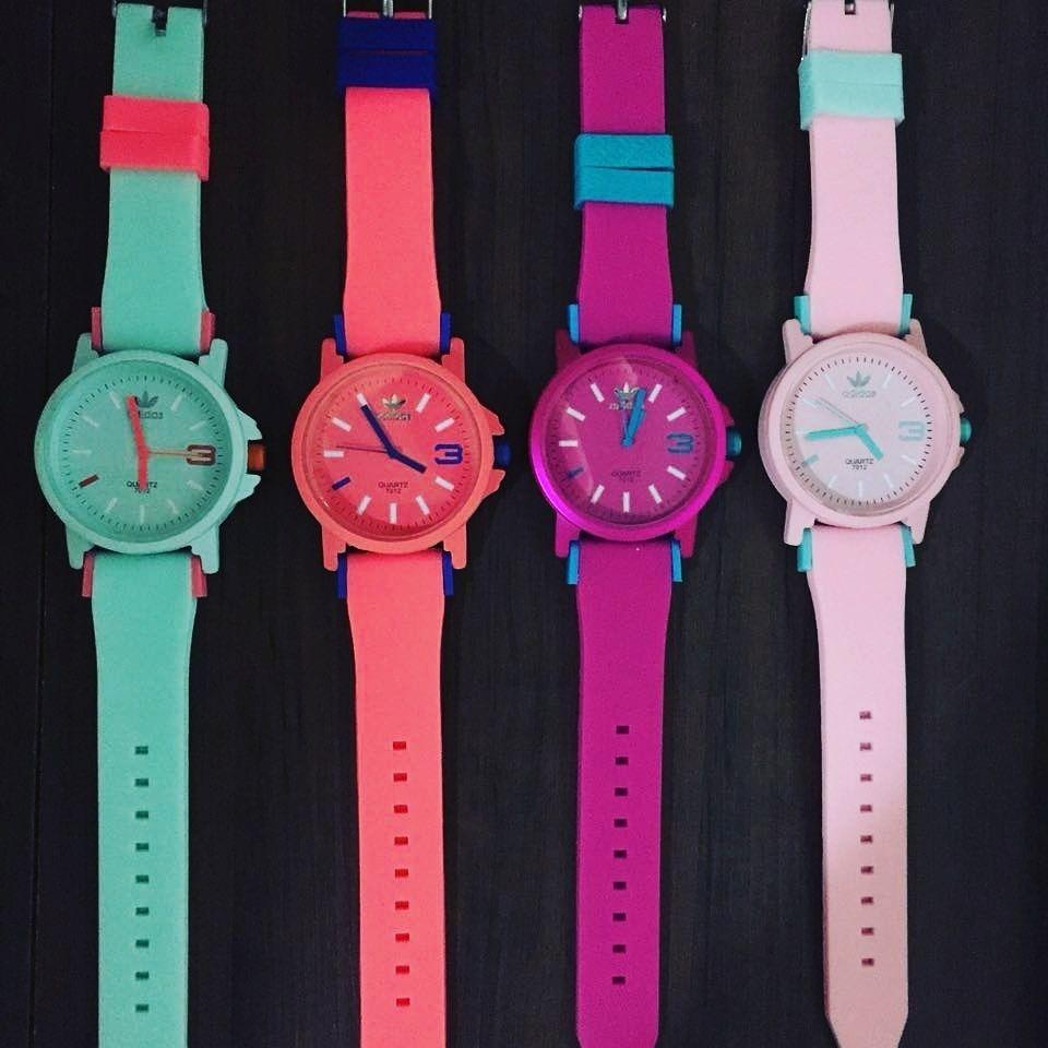 ... relógios adidas coloridos atacado com caixinha. Carregando zoom. a73014ec2dbc9