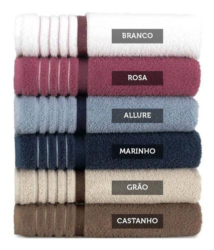 kit c/5 toalha de banho soft max 70 x 1,40 360g/m²