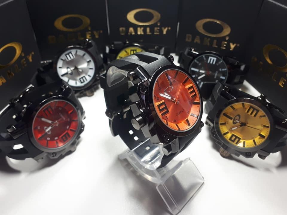 9fe1ef3ca94 Kit C 50 Relógios Masculino Oakley Gearbox - Fabricante - R  1.800 ...