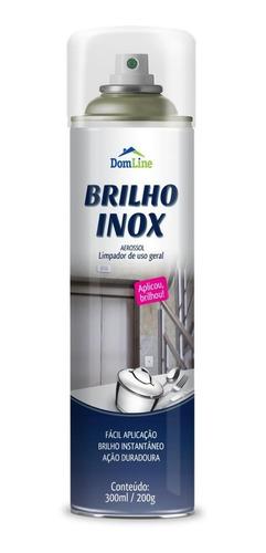 kit c/6 bilho inox domline aerosol - 210114