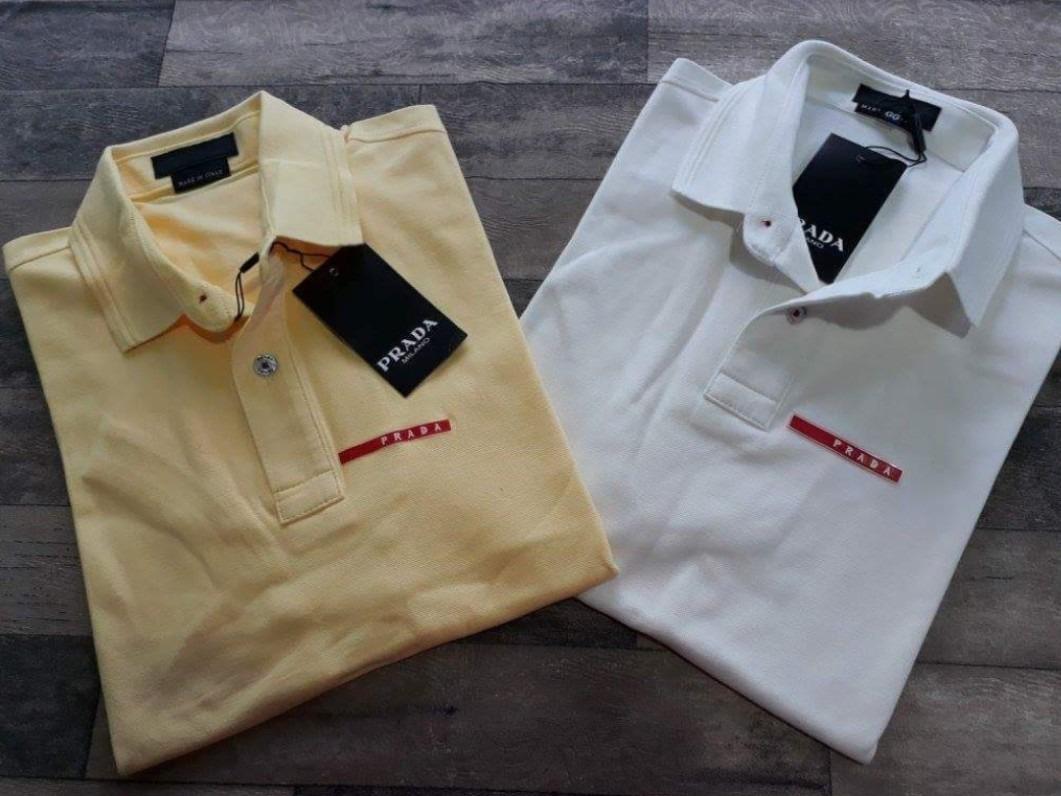 Kit C 6 Camisa Polo Prada Premium Atacado - R  720,00 em Mercado Livre a67126b6a7