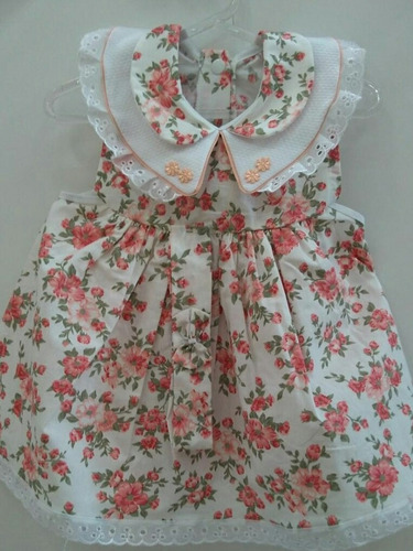 kit c6 vestidos infantis até 1 ano preços único.
