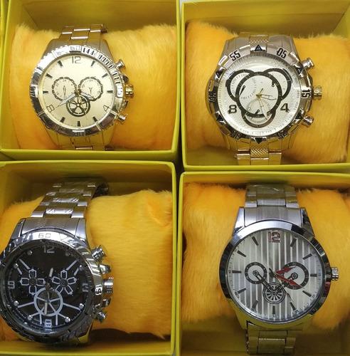 kit c/60 relógios masculino divers caixas atacado fr. gratis