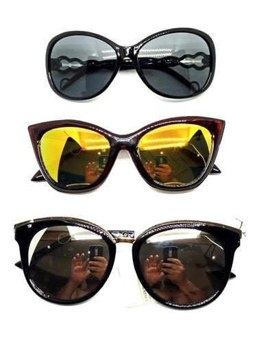 7346f4270b5be Kit C 8 Óculos De Sol Feminino Atacado Lançamento Lindos - R  79,99 ...