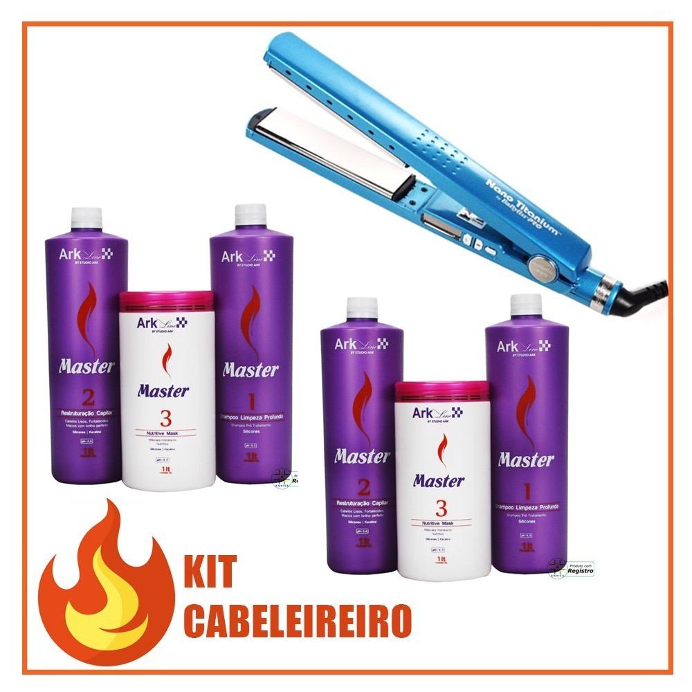 2b9397659 kit cabeleireiro - 2 kit master ark line + chapinha babylis. Carregando  zoom.