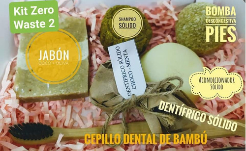 kit cabello ,cuerpo ,zero waste ,natural ,shampoo ,crema