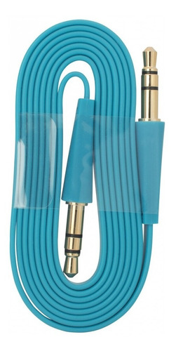kit cables auxiliares 1x1 de 3.5 mm, 3 mts, 9 unidades